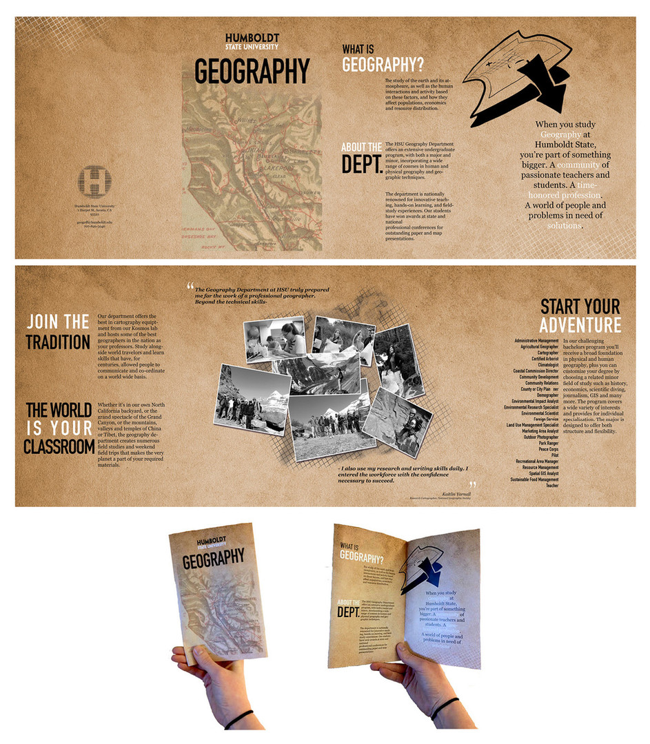 Humboldt Geography Brochure