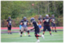 Lummi football flare pass
