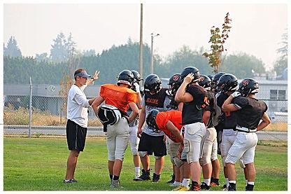 Jay Dodd and the Blaine football team