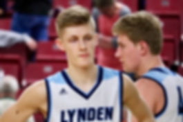Cole Bajema of Lynden Christian is an WIAA award winner - Doug Lange Bellingham