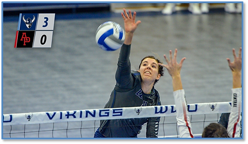 Abby Phelps WWU Volleyball
