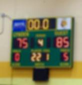 The scoreoard at Lynden High School - Doug Lange Bellingham