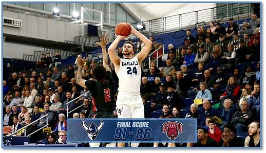 Trevor Jasinsky WWU basketball