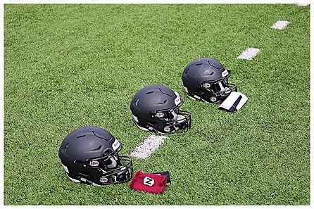 Lummi football helmets
