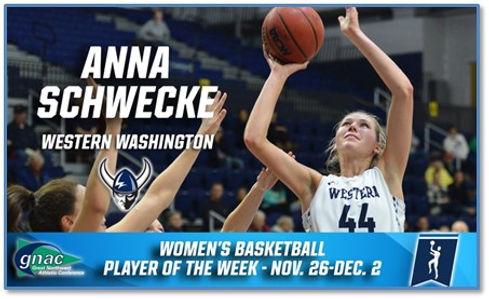 Anna Schwecke WWU basketball