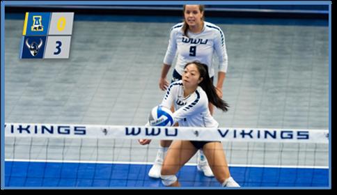 Mae Thungc WWU volleyball