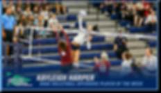 Kayleigh Harper WWU Volleyball
