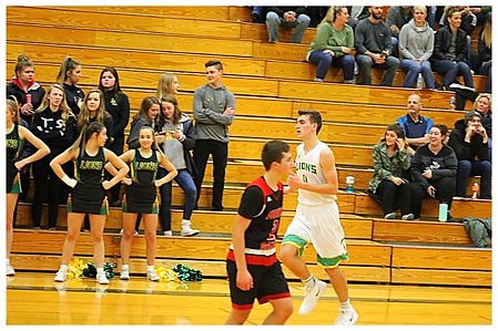 Clayton Whitman Lynden basketball
