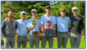 WWU mens golf Vikings