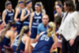 Lynden Christian girls basketbal coach Brady Bomber - Doug Lange Bellingham