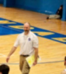 Ferndale boys basketball coach Jason Owens - Doug Lange Bellingam