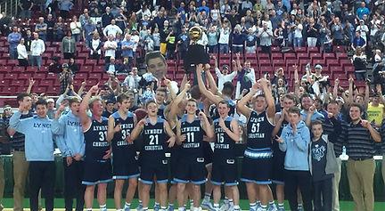 Lynden Christian boys are state champions - Doug Lange Bellingham
