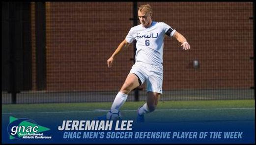 Jeremiah Lee WWU Soccer