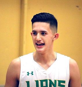 Christian Zamora Lynden basketball