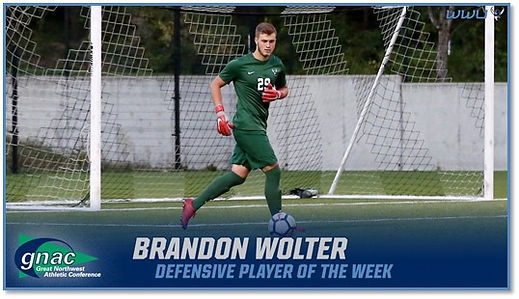 Brandon Wolter WWU Soccer