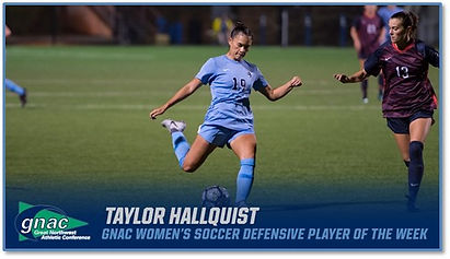 Taylor Hallquist WWU women's Soccer