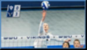 WWU volleyball Michaela Hall