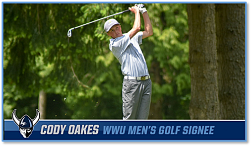 Cody Oakes WWU golf