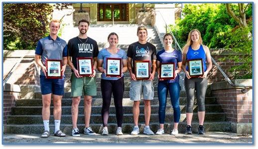 WWU Athletes of the Year.jpg posted by doug Lange Bellingham