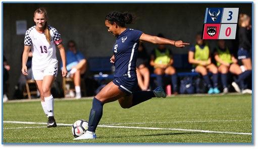Gabriela Pelogi WWU Soccer