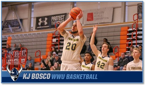 WWU Vikings Welcome Forward KJ Bosco to Program from Portland CC
