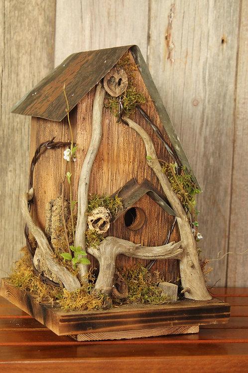 146 - Rustic Bird House