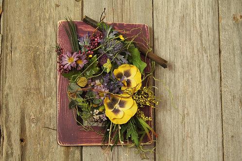 102-Purple Framed Spring