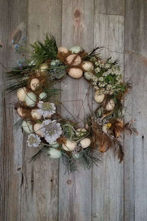 156 - Spring Egg Wreath