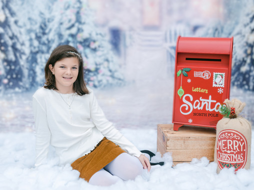 Charlotte, NC | Holiday Mini Session | Sophia's Christmas Mini