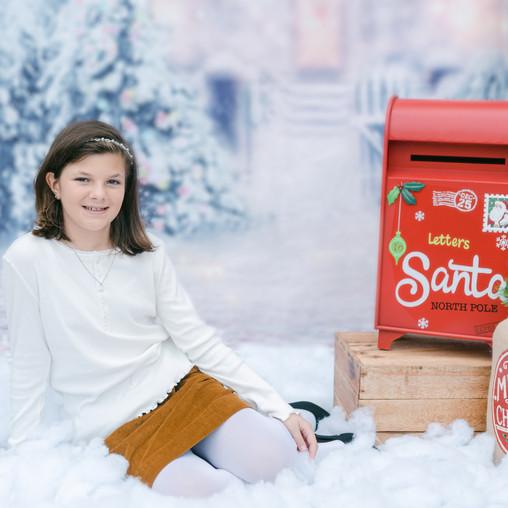 Charlotte, NC | Holiday Mini Session | Sophia's Christmas Mini