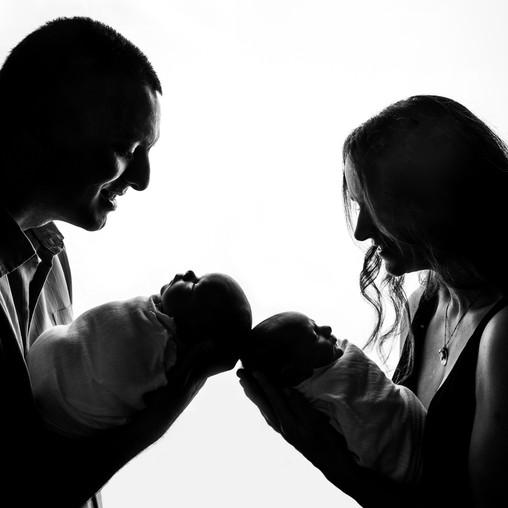 Charlotte, NC | Adaleigh and Sebastian Newborn Session | 11/1/2020