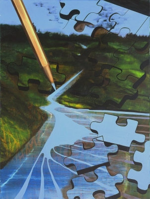 Puzzled River