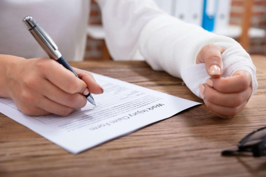 workers compensation claim application