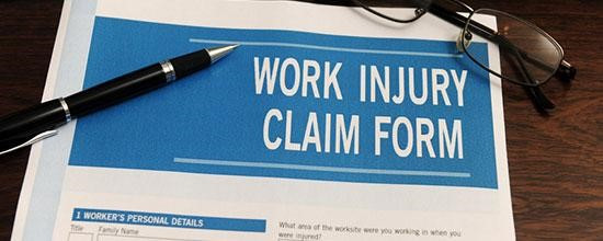 workers injury claim form