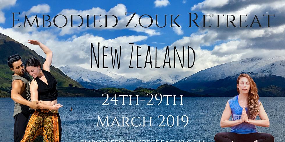 Embodied Zouk Retreat New Zealand 2019