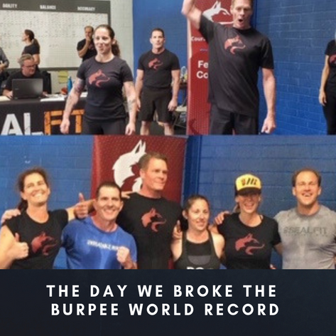 The Day We Broke The Burpee World Record