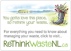 Rethink waste Nl logo
