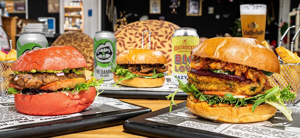 Alice Rebels Chelsea cafe burgers craft beer vegan food