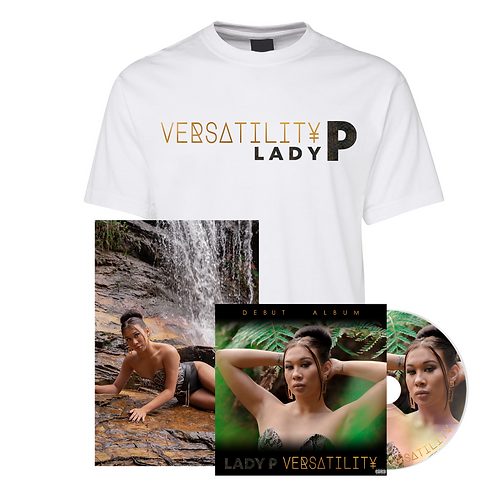 CD with Poster + Versatility Tee