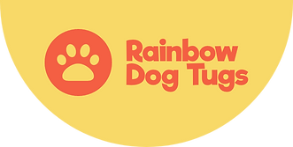 Rainbow Dog Tugs Logo