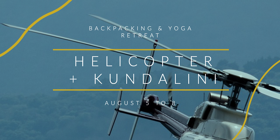 Helicopter Retreat: Kundalini Awakening