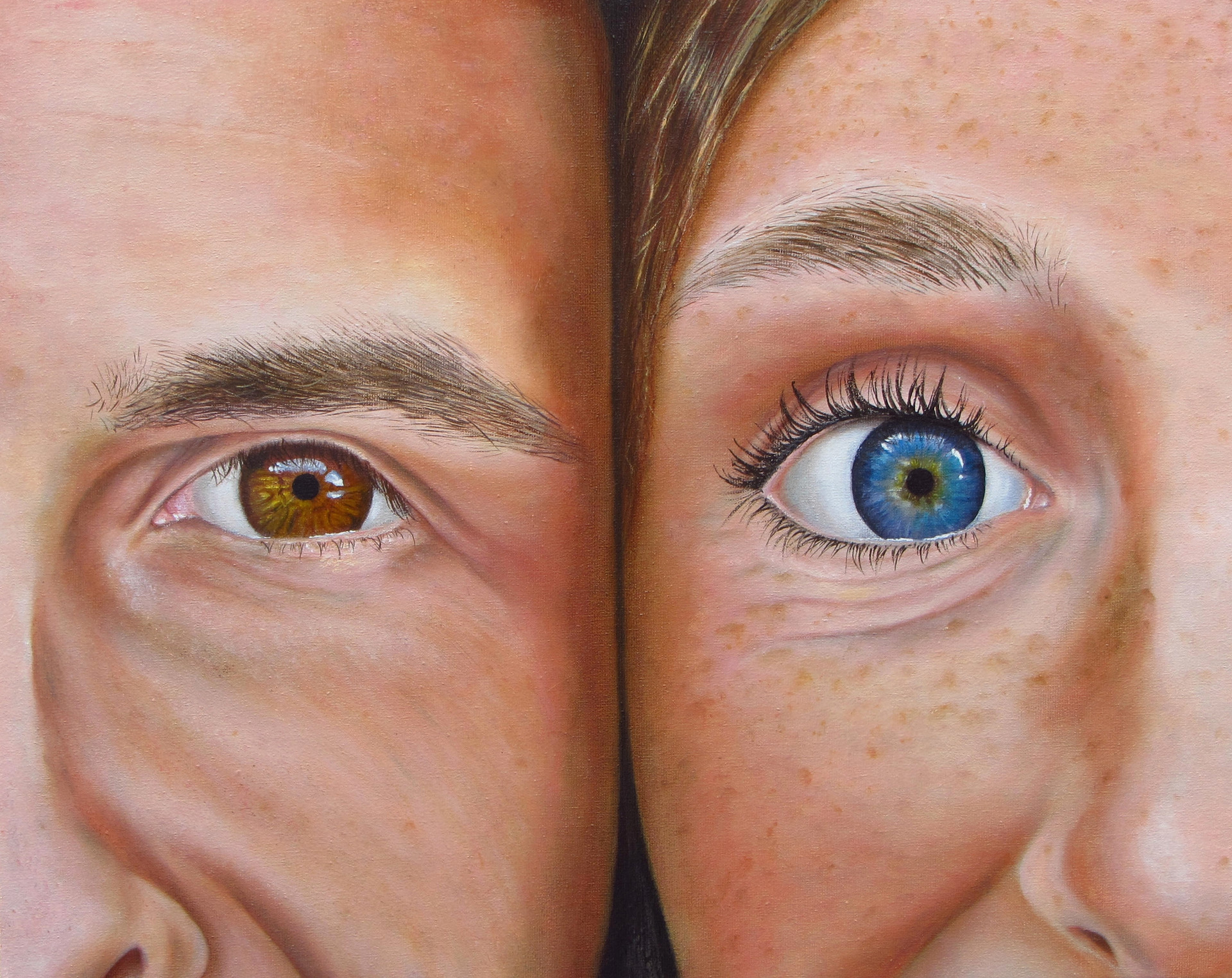 His blue-eyed girl