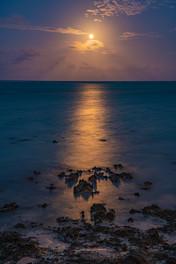Moonrise over Zanzibar