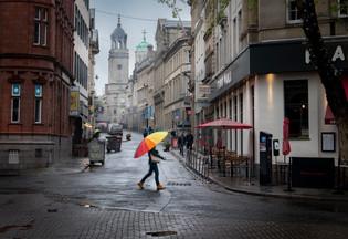 Rainy Bristol England