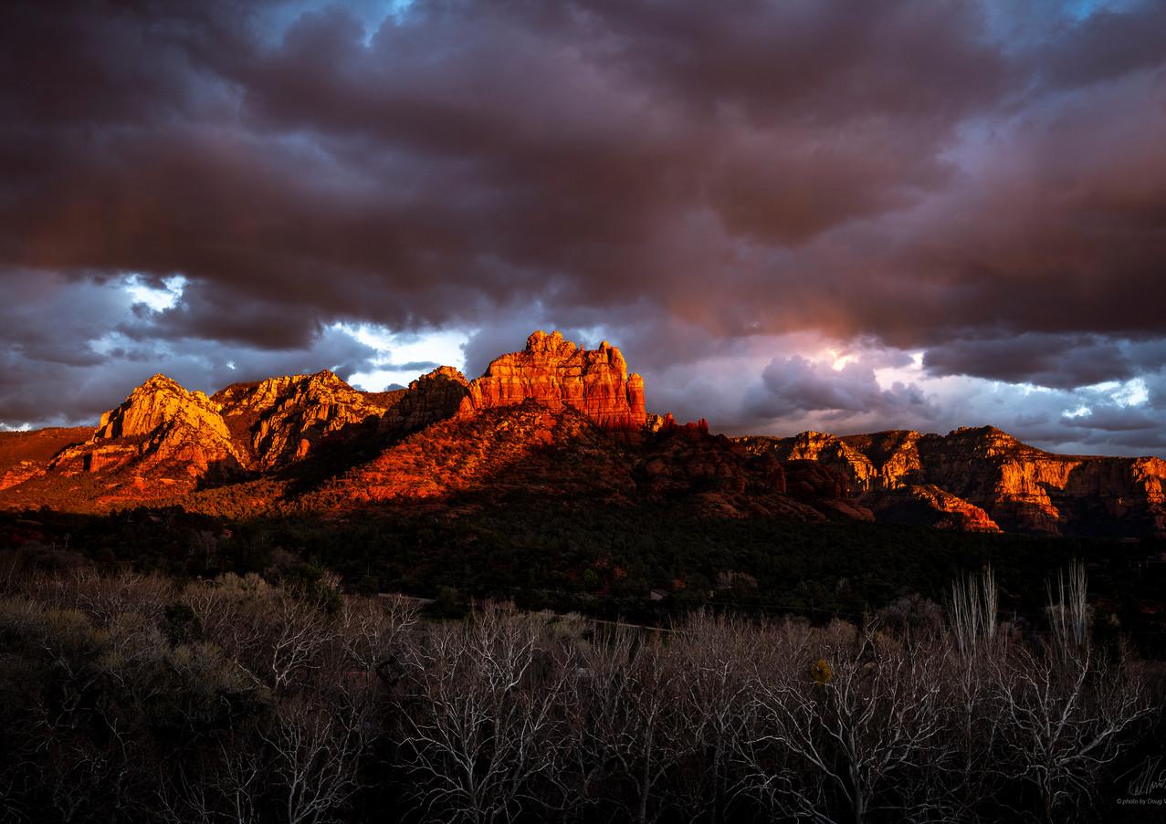 Red Arizona mountains