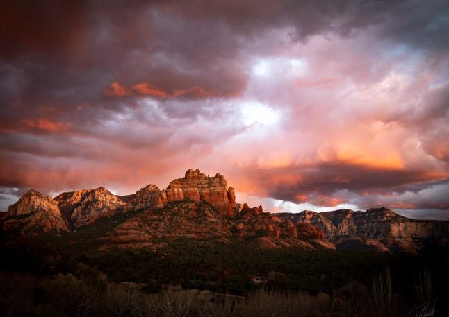 Red mountains of Arizona