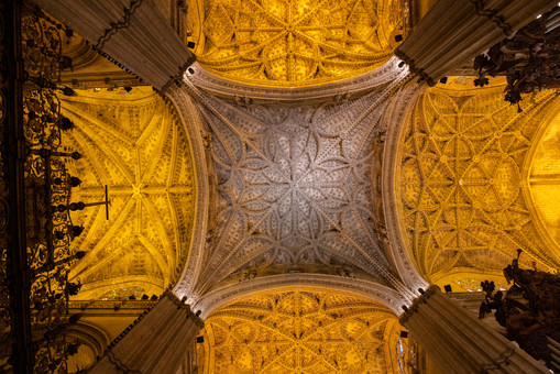 Cathedral ceiling