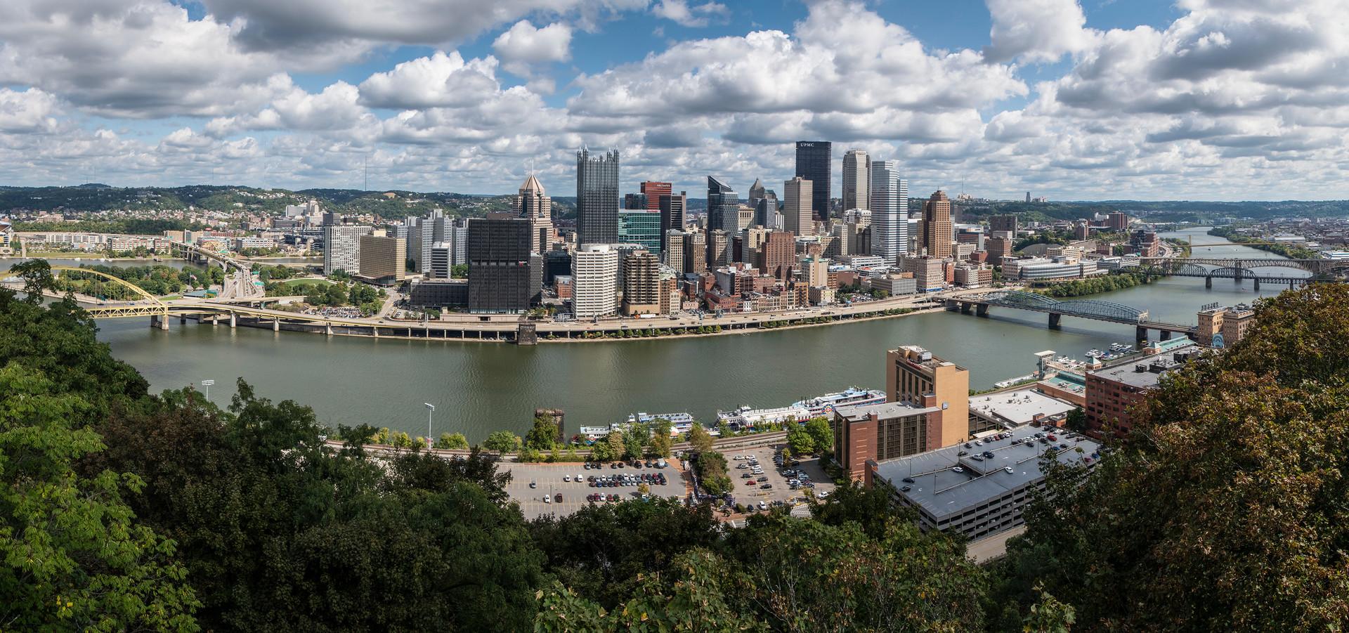 Pittsburgh panarama