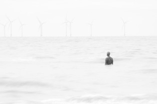 """""""Another Place"""" by Sir Antony Gromley"""