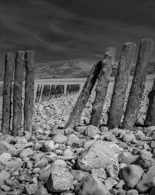 Groynes at Porlock Weir